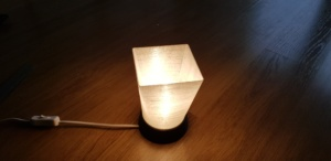 New 3D Printed Lamp Design